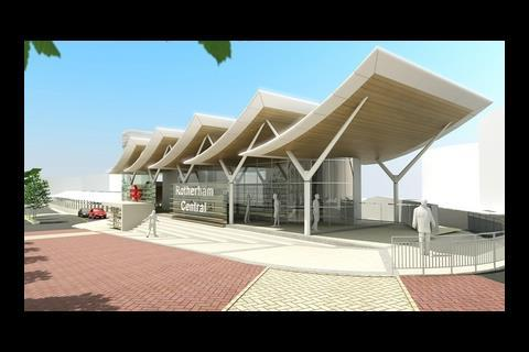Aedas design for Rotherham railway